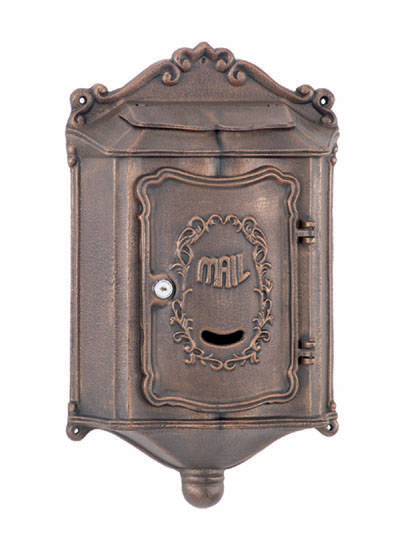pembroke locking wall mount mailbox - Lockable Mailbox