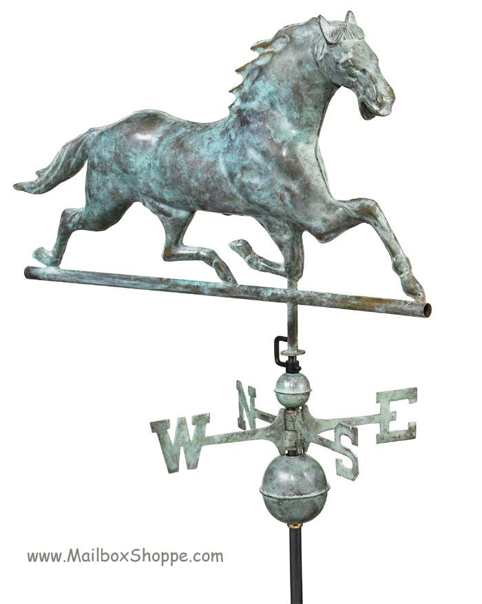 Large Horse Weathervanes